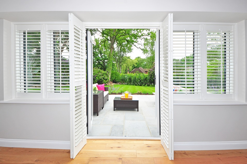 Window shutters in Ajax